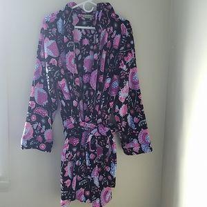 Vera Bradley plush Robe Alpine Floral